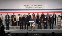 bachelet y gabinete