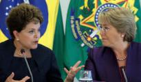 bachelet,Rousseff