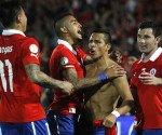 Football, Chile vs Ecuador.