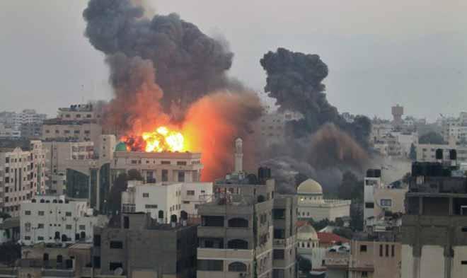ataque israeli a palestina