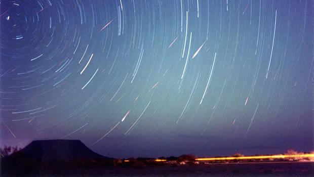Año astronómico cierra con la mayor lluvia de estrellas sobre Chile