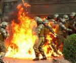 carabineros violencia gobierno de michelle