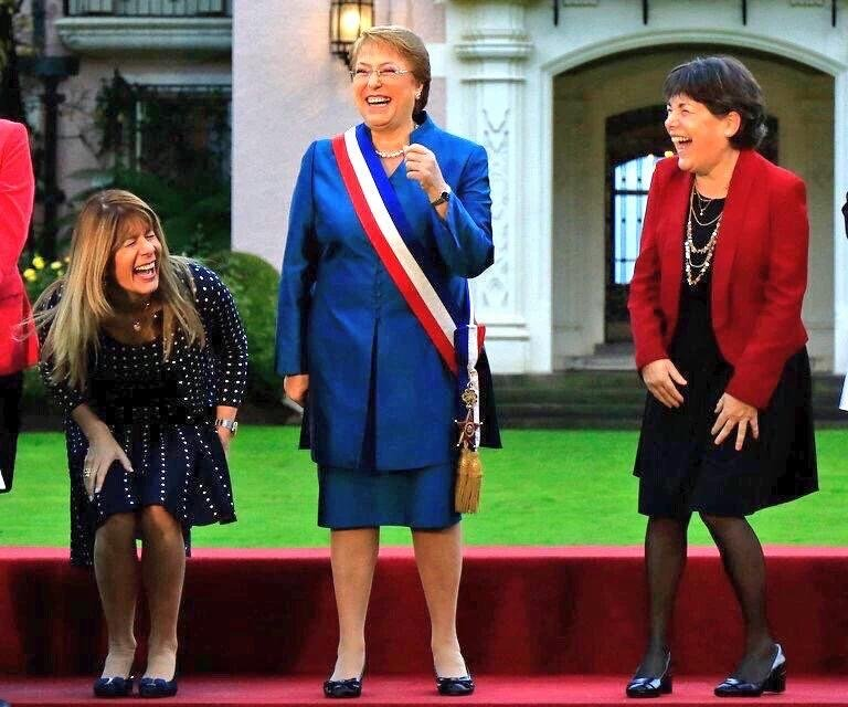 bachelet  y sus ministras