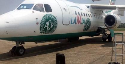 Club Chapecoense sufre accidente aereo en Colombia.