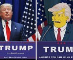 trump and simpsons