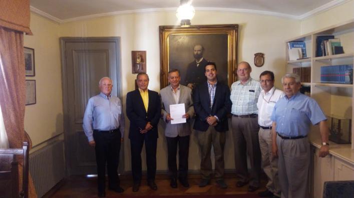 VICTOR BARAHOBA, FERNANDO EITEL, ARMADA DE CHILE, CALEUCHE