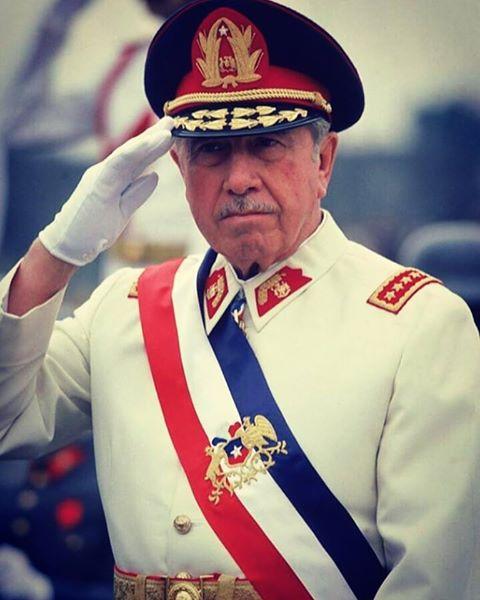 presidente pinochet, de chile