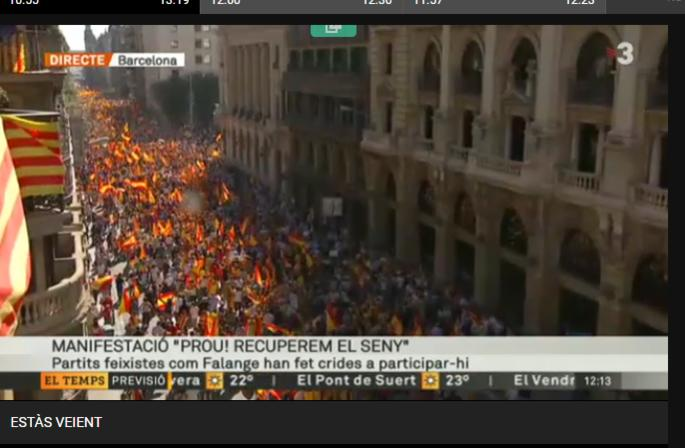 tv3 MANIPULACION MARXISTA, MIENTEN CATALANES SEPARATISTAS