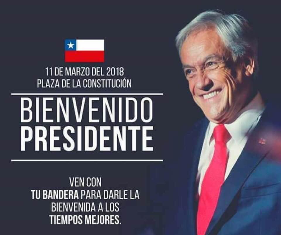 piñera, presidente 2018