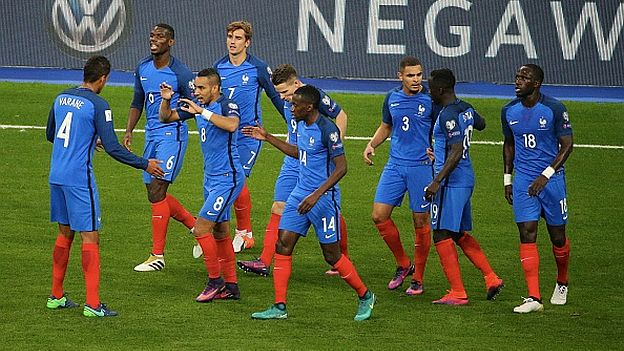 France Bulgaria For FIFA World Cup 2018 Qualifying Groupe A