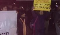 pinochetistas manifestacion