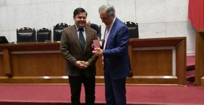 rodrigo eitel condecoración Senado de la República